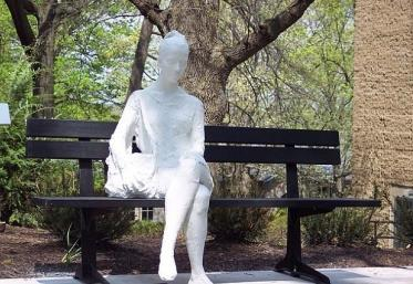 Woman on a Bench,